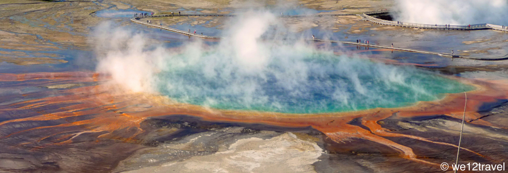 grand prismatic highlights of yellowstone national park