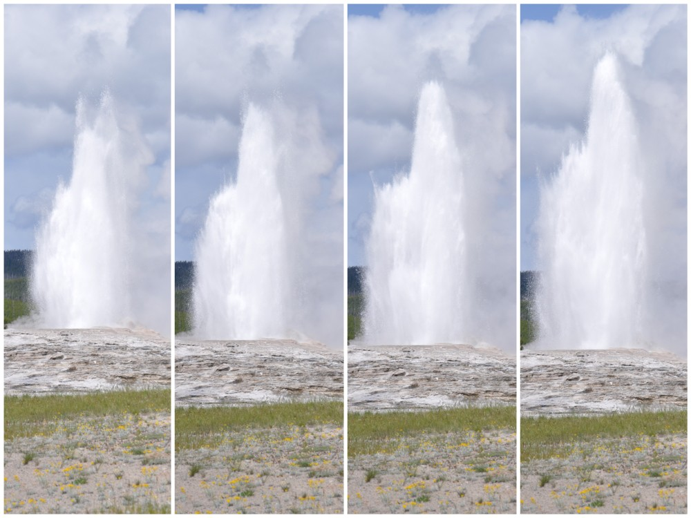 old faithful geyser highlights of yellowstone national park