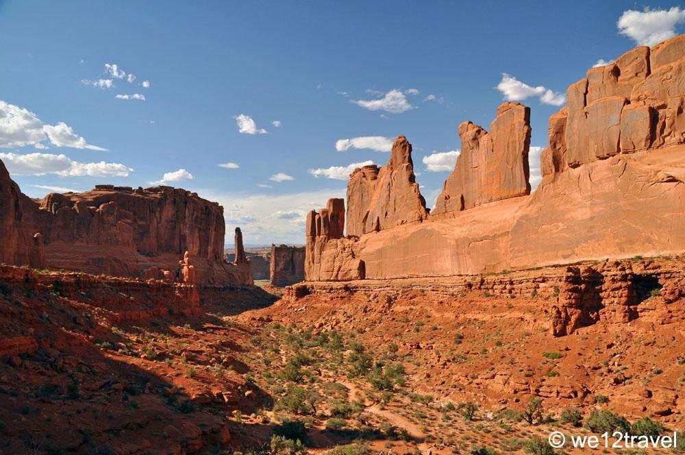 park avenua arches national park
