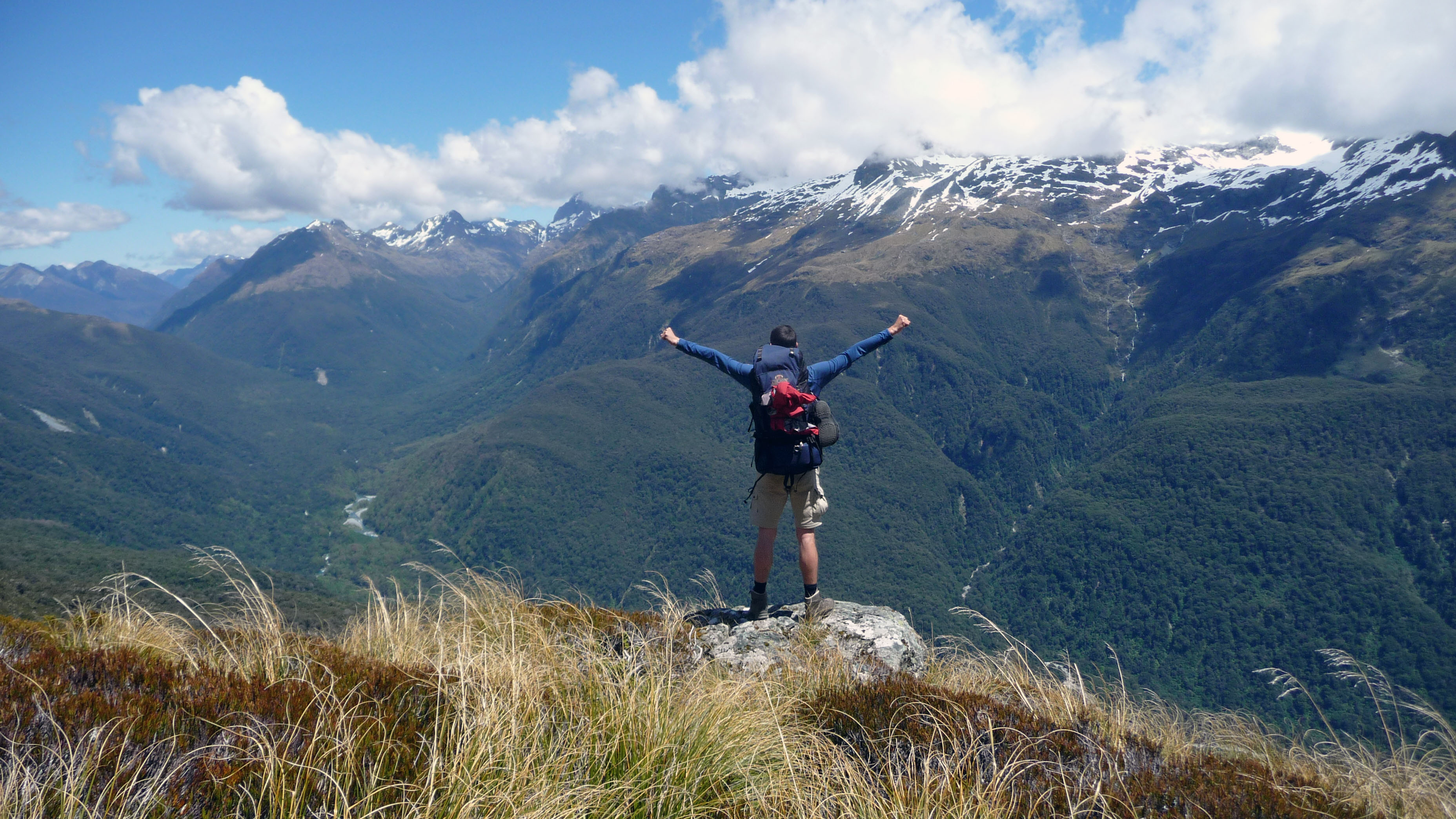 hiking the routeburn track