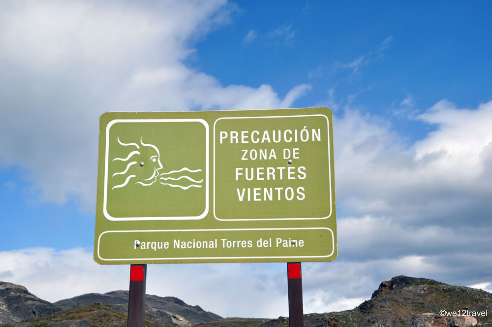 travel tips for torres del paine wind in patagonia