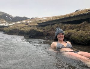 Hiking to Reykjadalur Hot Springs in Iceland