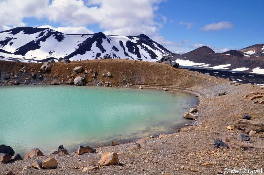 tongariro national park tongariro alpine crossing