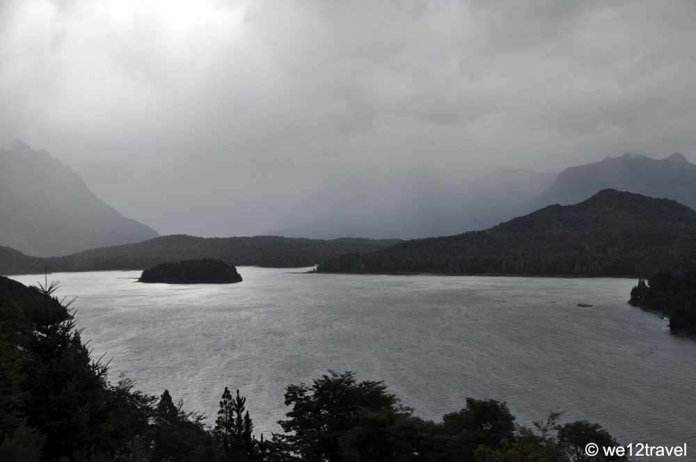 Circuito Chico Bariloche : Circuito chico on a rainy afternoon in bariloche