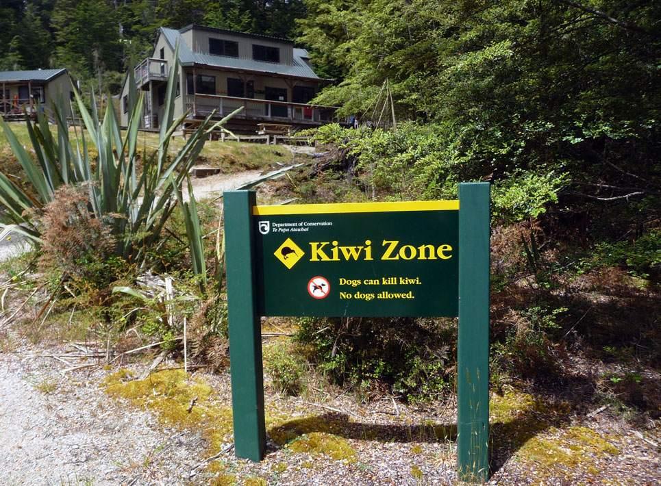 Moturau Hut on the Kepler Track