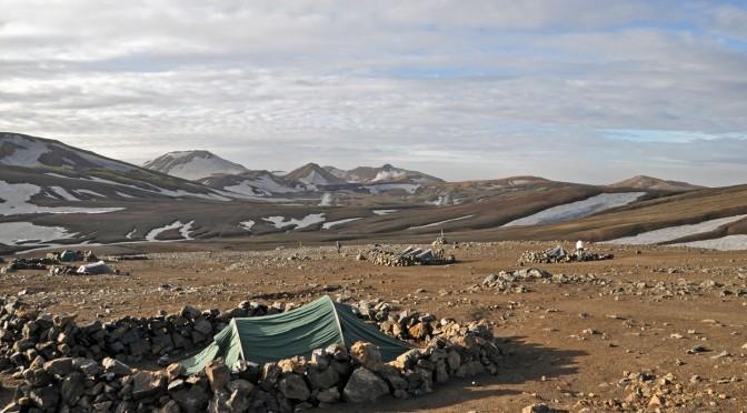 hrafntinnusker-camping