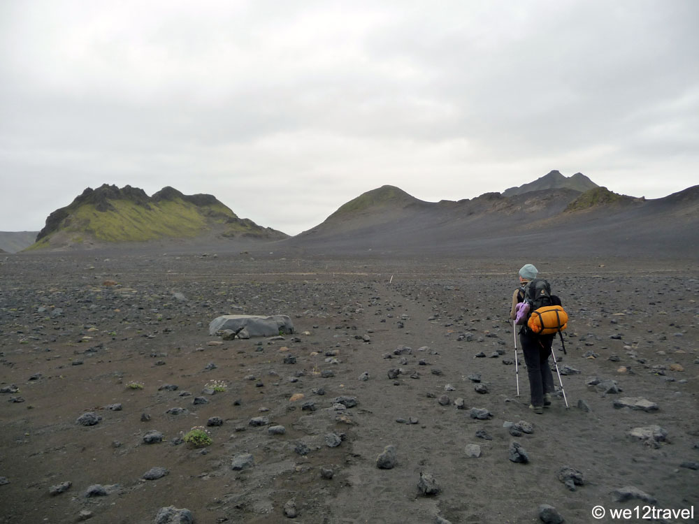 laugavegur ijsland mosar zwarte woestijn