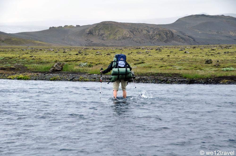 river crossing laugavegur