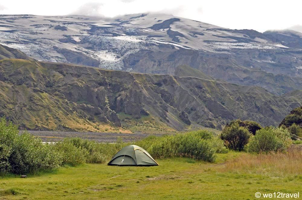 kamperen in thorsmork