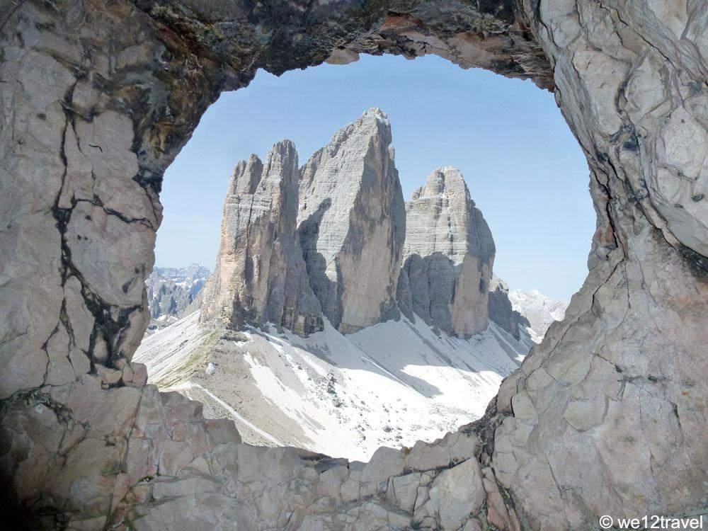 Drei-Zinnen-through-the-wall