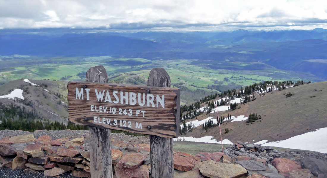 climbing mount washburn