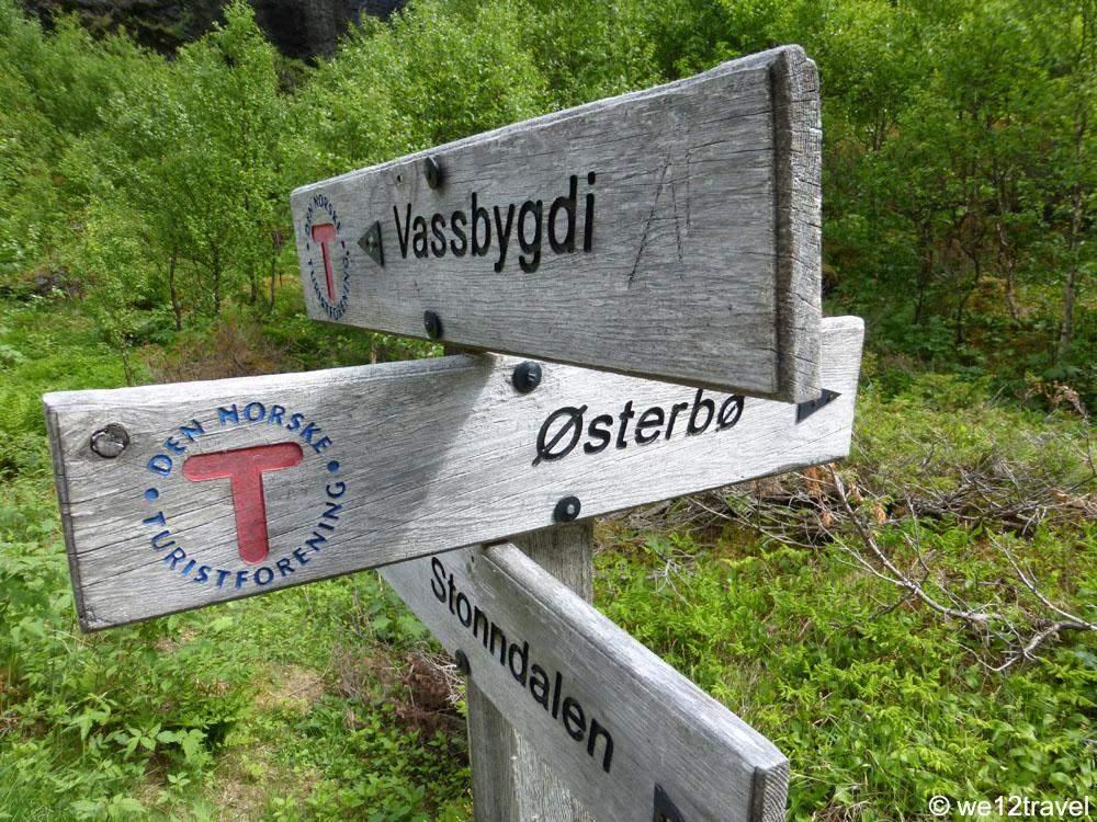 aurlandsdalen-signpost