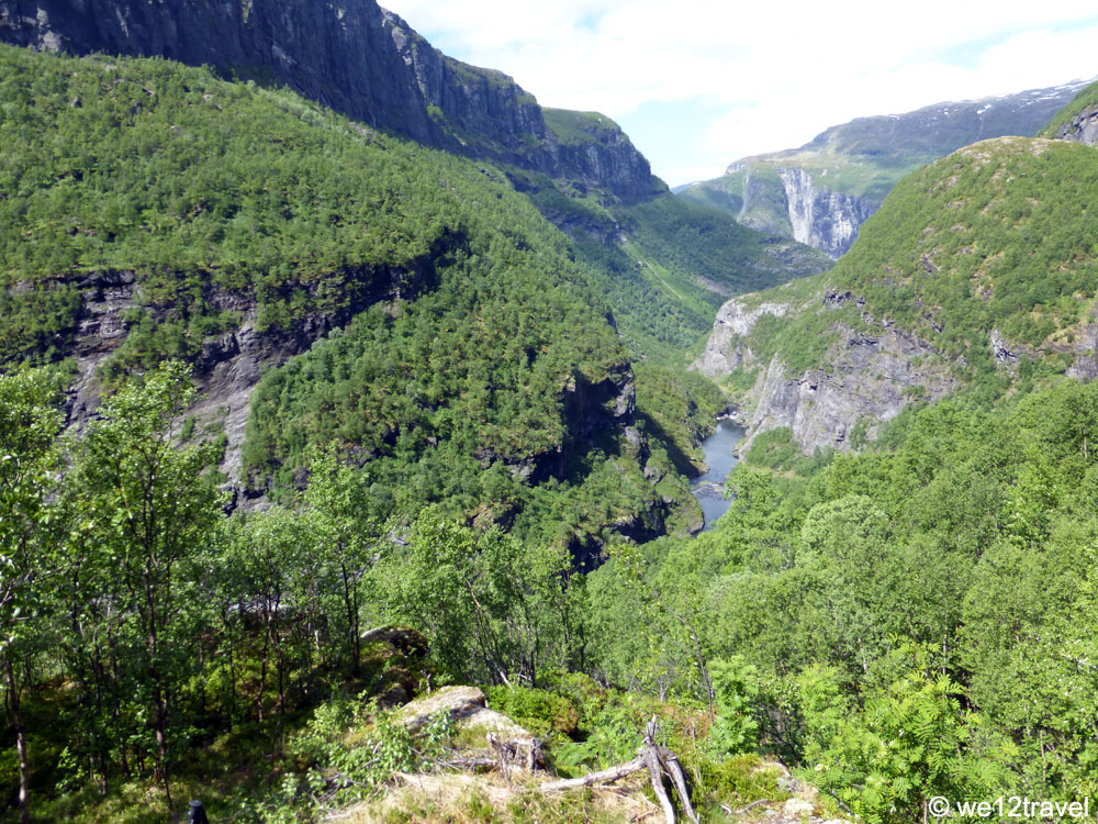 aurlandsdalen hike with a view