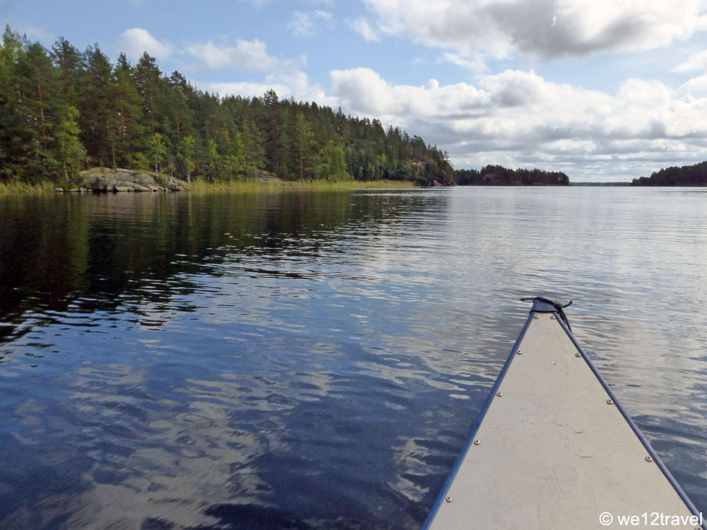 canoeing-linnansaari