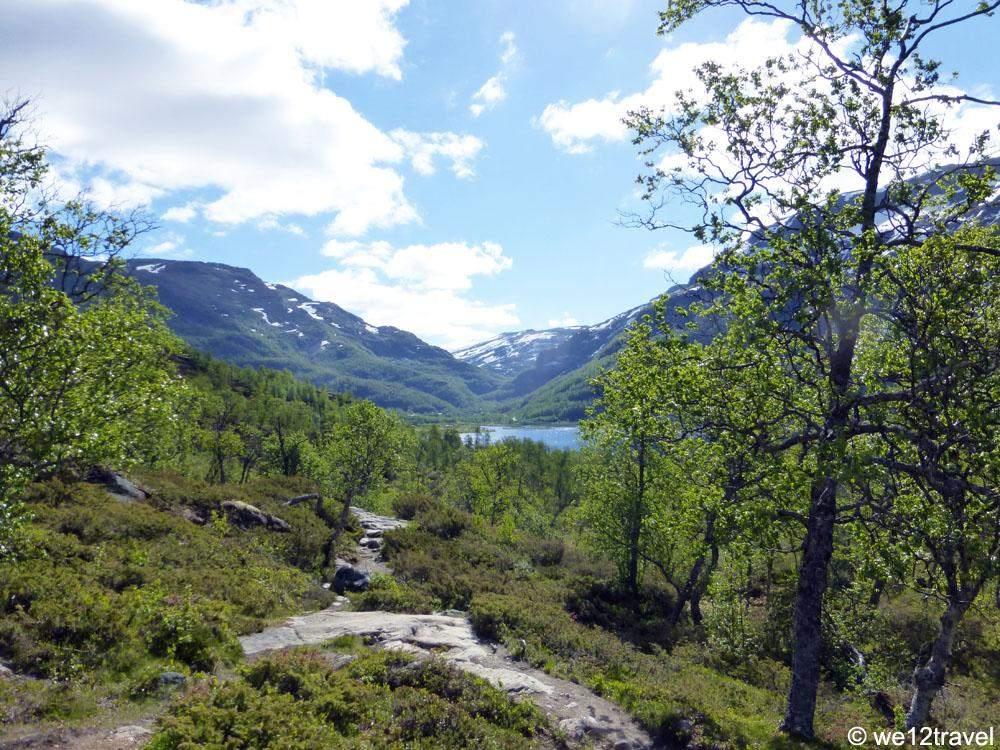 aurlandsdalen hike norway