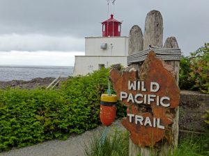 Hiking the Wild Pacific Trail in Ucluelet, Vancouver Island