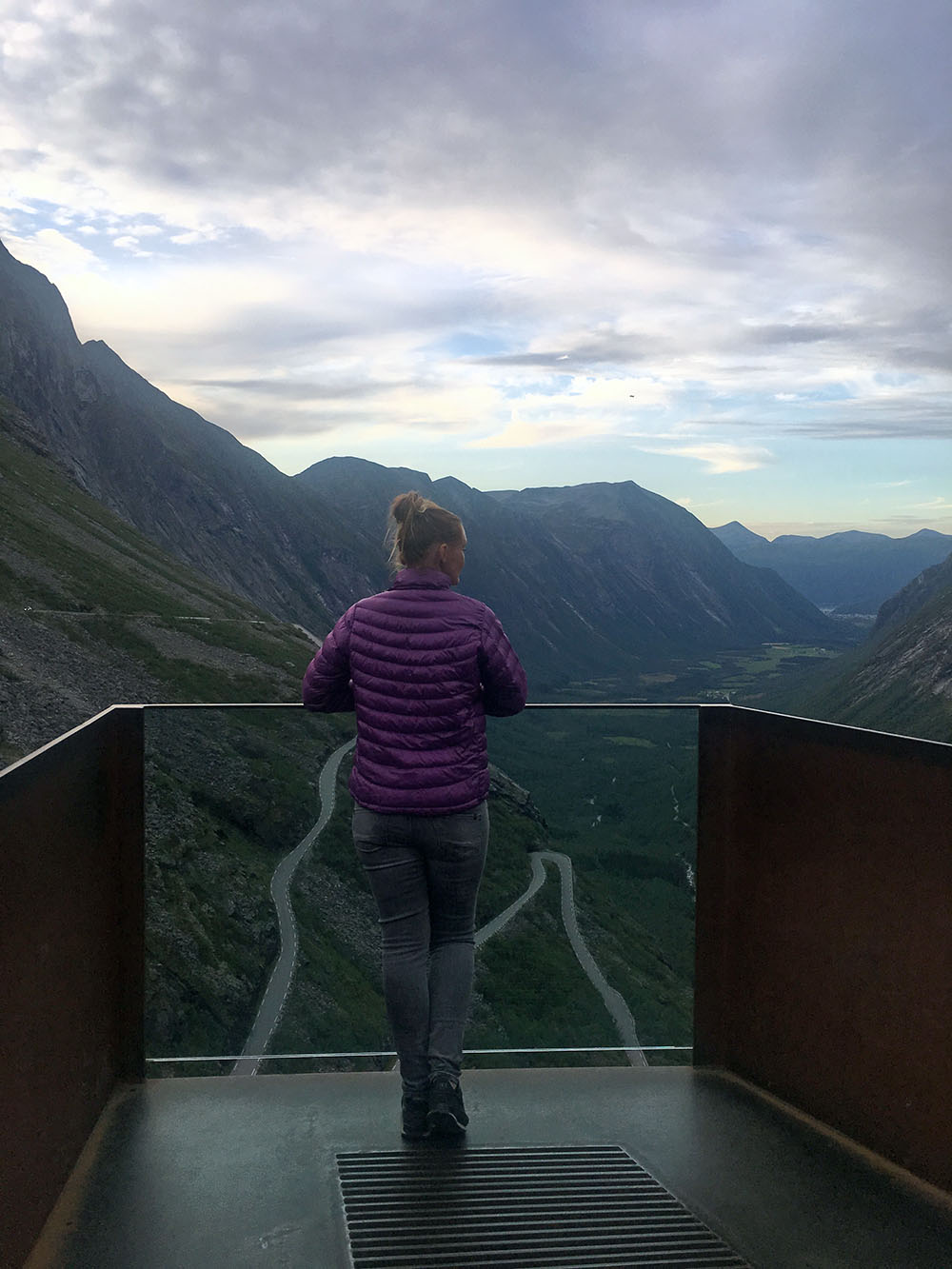 Uitzicht vanaf Trollstigen