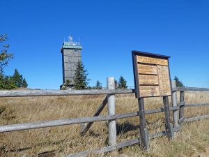 Hiking in the Harz: climbing Brocken