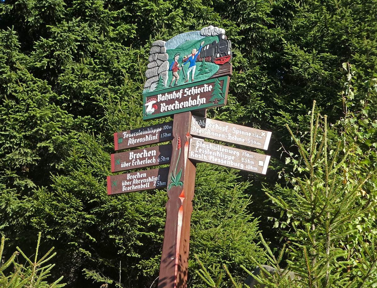 Brocken beklimmen vanuit Schierke