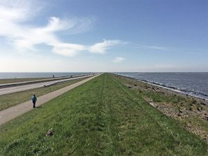 Why I walked 32km along the Afsluitdijk