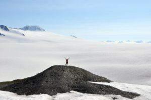 Hiking wish: Harding Icefield Trail in Alaska