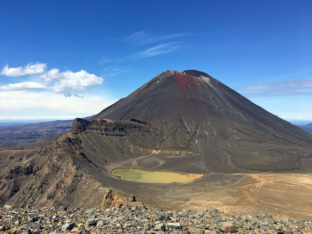 tongariro crossing the best hikes in new zealand