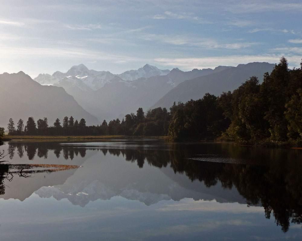 reflection pond nieuw-zeeland