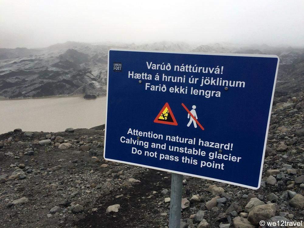 solheimaokull-warning-sign