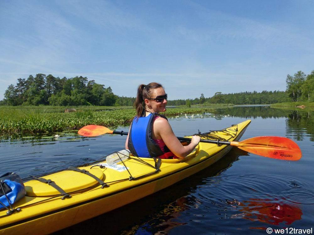 kayaking-smaland