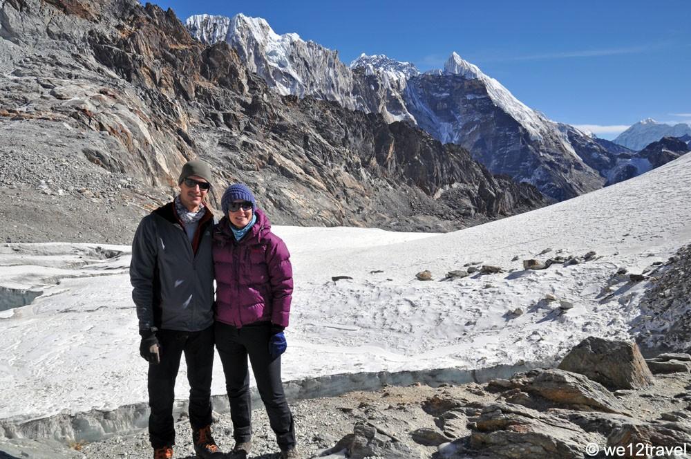 Cho La Pass op 5.420 meter hoogte