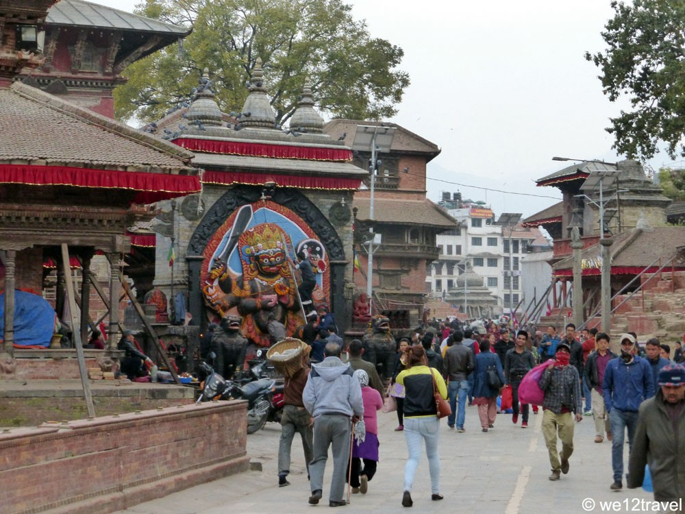 Durbar Square after the eartquake