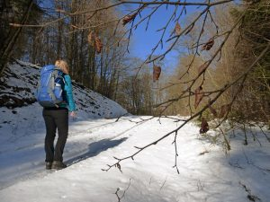 Winter hiking in Sauerland