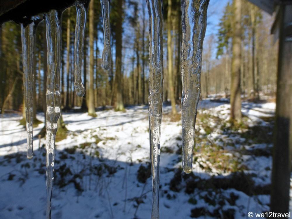 rothaarsteig in winter