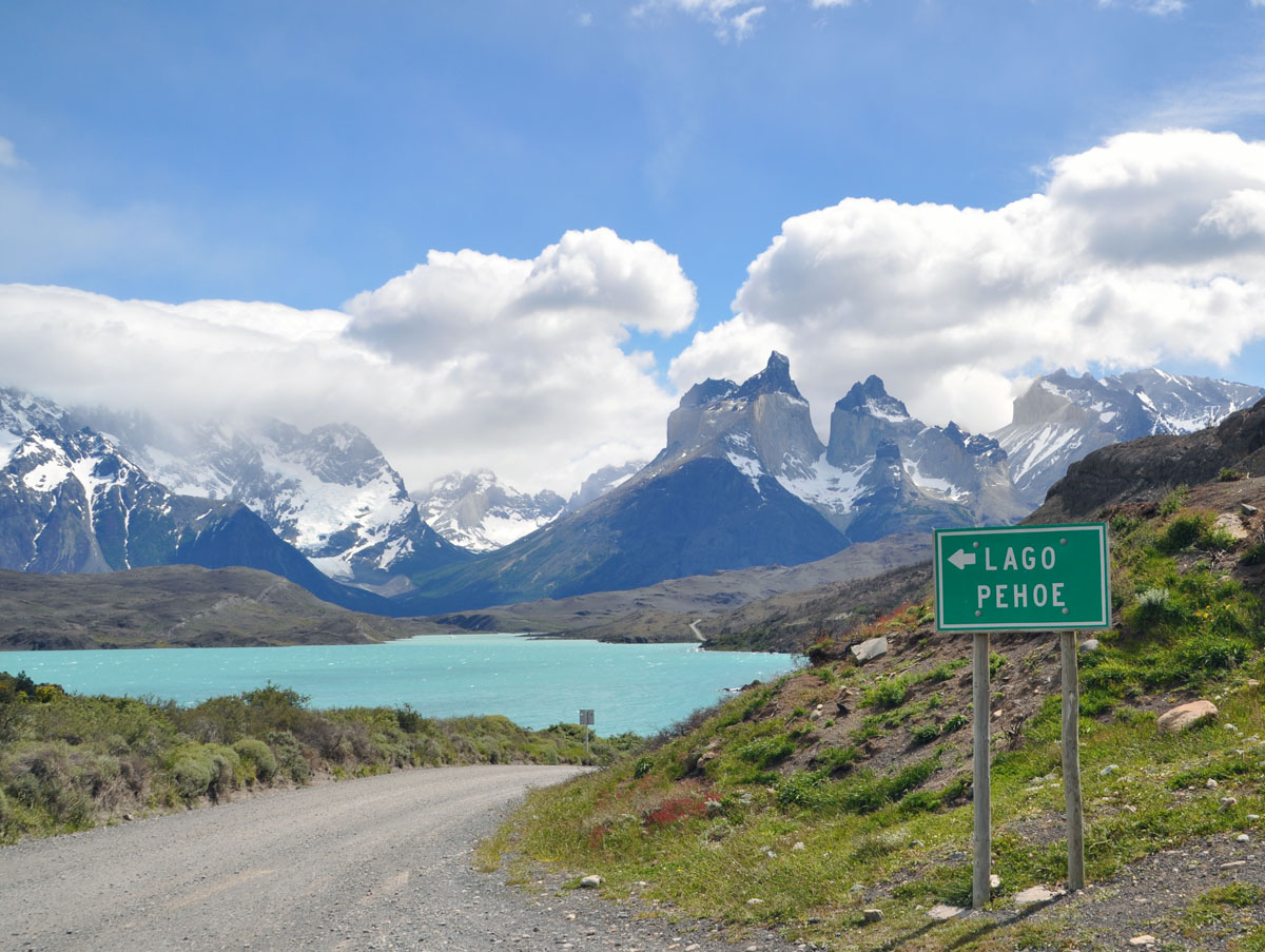Lago Pehoe Torres del Paine