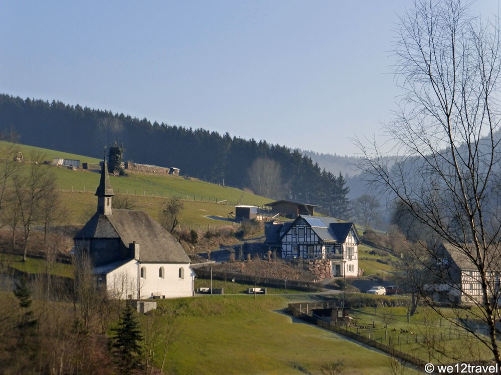 hiking the rothaarsteig