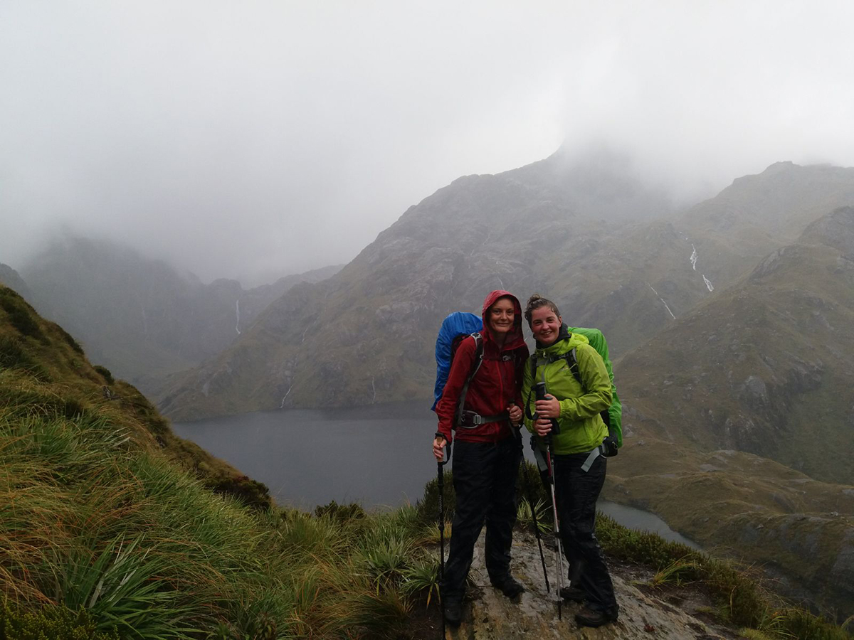 Rain on the Routeburn Track