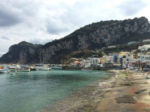 naar capri in de winter