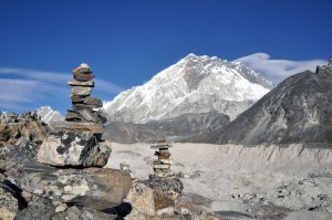 De weg naar Everest Base Camp