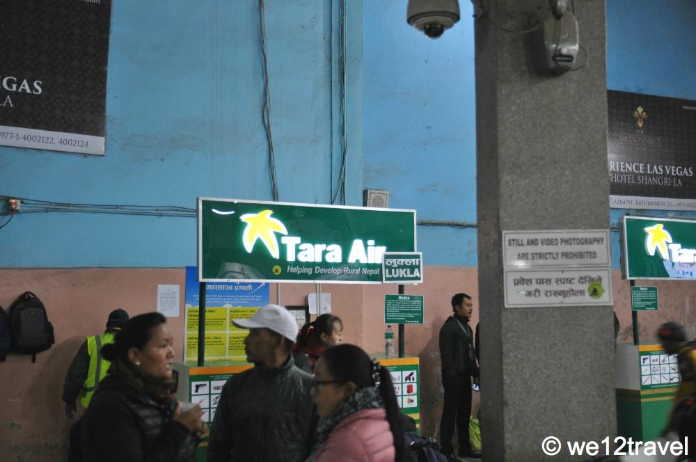 tara air kathmandu airport