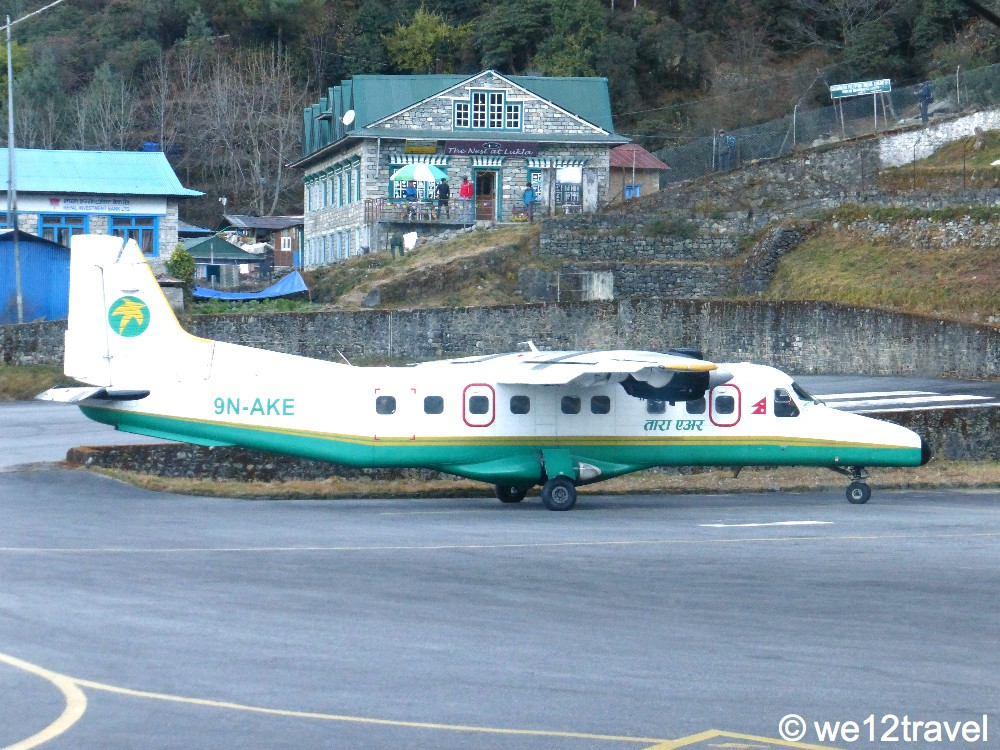 tara air lukla airport