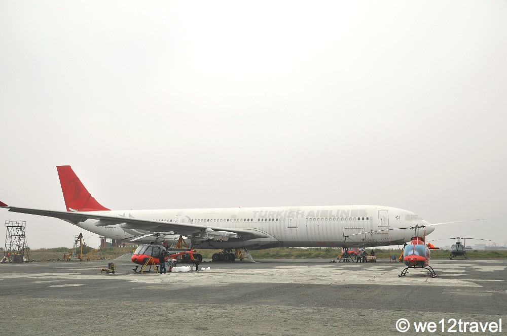 turkish airlines kathmandu airport