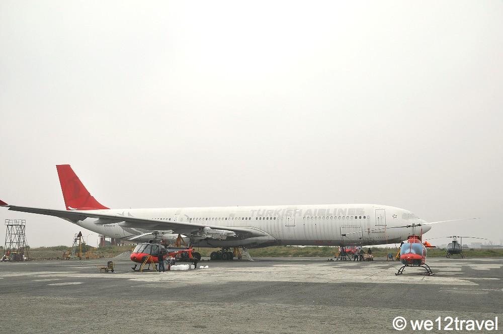 turkish airlines kathmandu airport