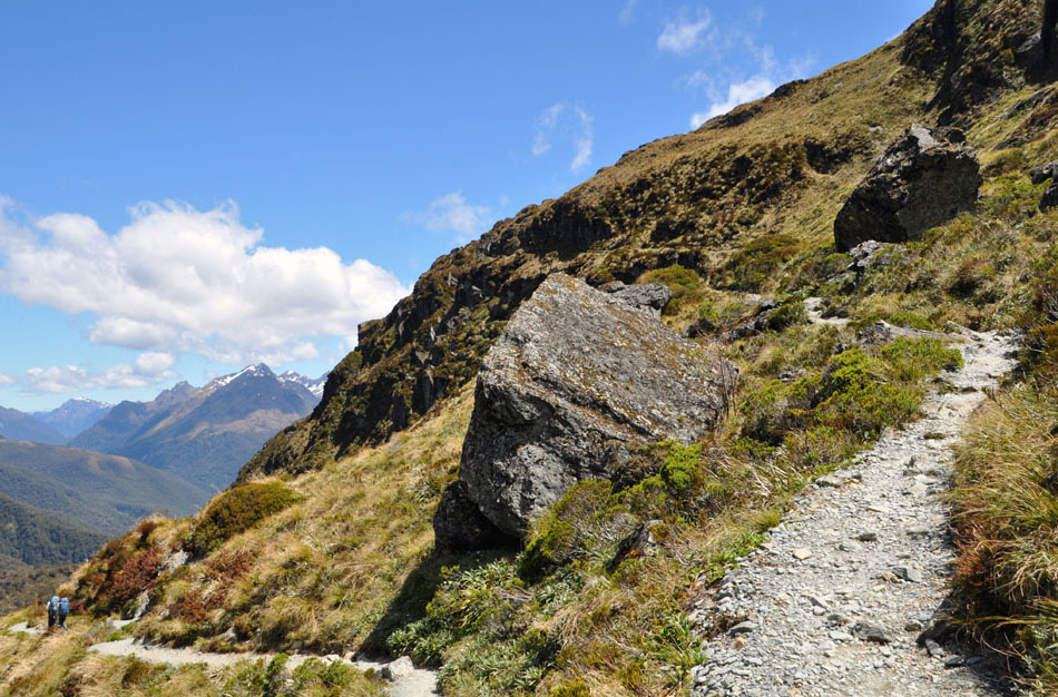 hiking the Routeburn Track