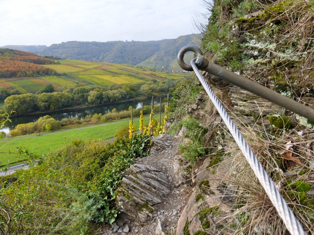 Klettersteig Mosel : Calmont klettersteig in the mosel region all you want to know
