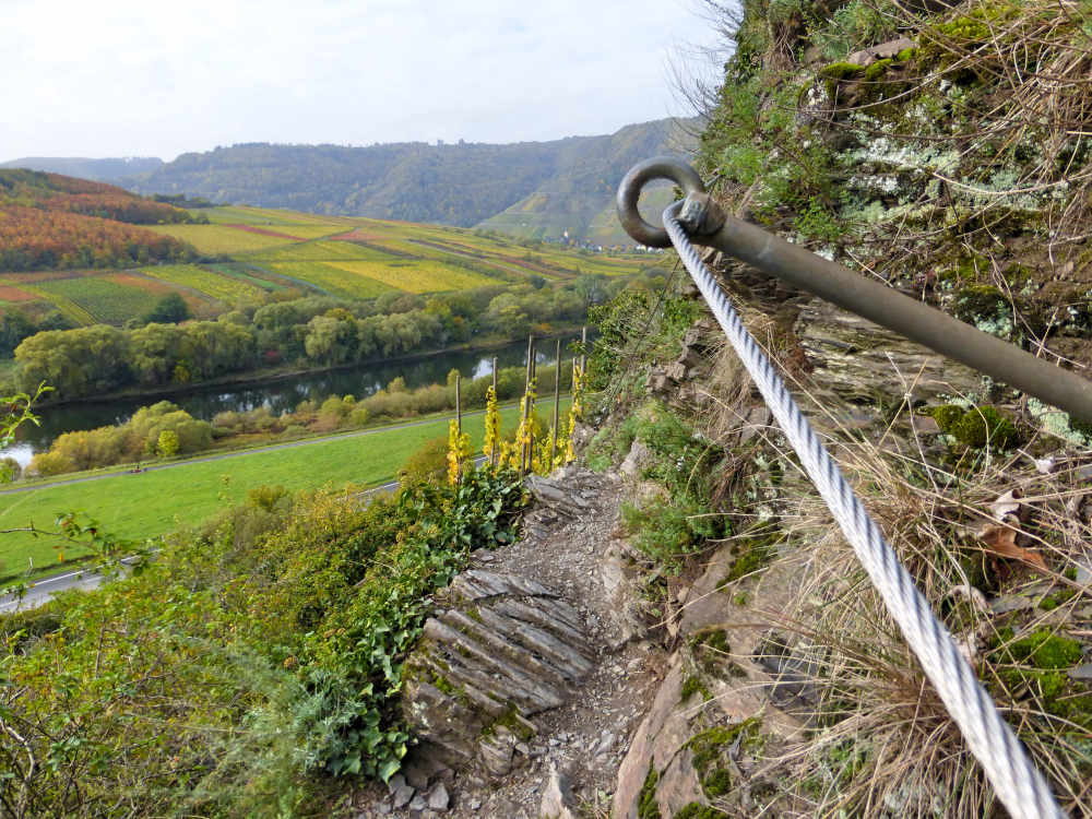 Klettersteig Mosel : Calmont klettersteig in the mosel region: all you want to know!
