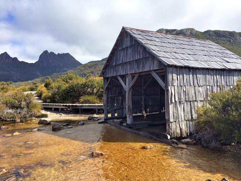 best hikes in tasmania cradle mountain dove lake circuit