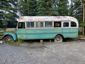 Bus from Into the Wild Alaska