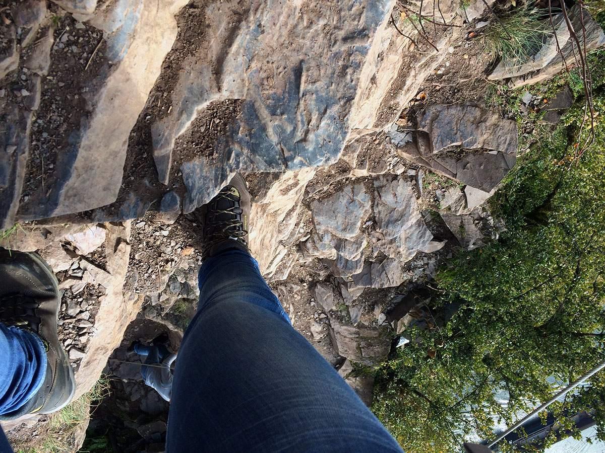 Calmont Klettersteig moezel