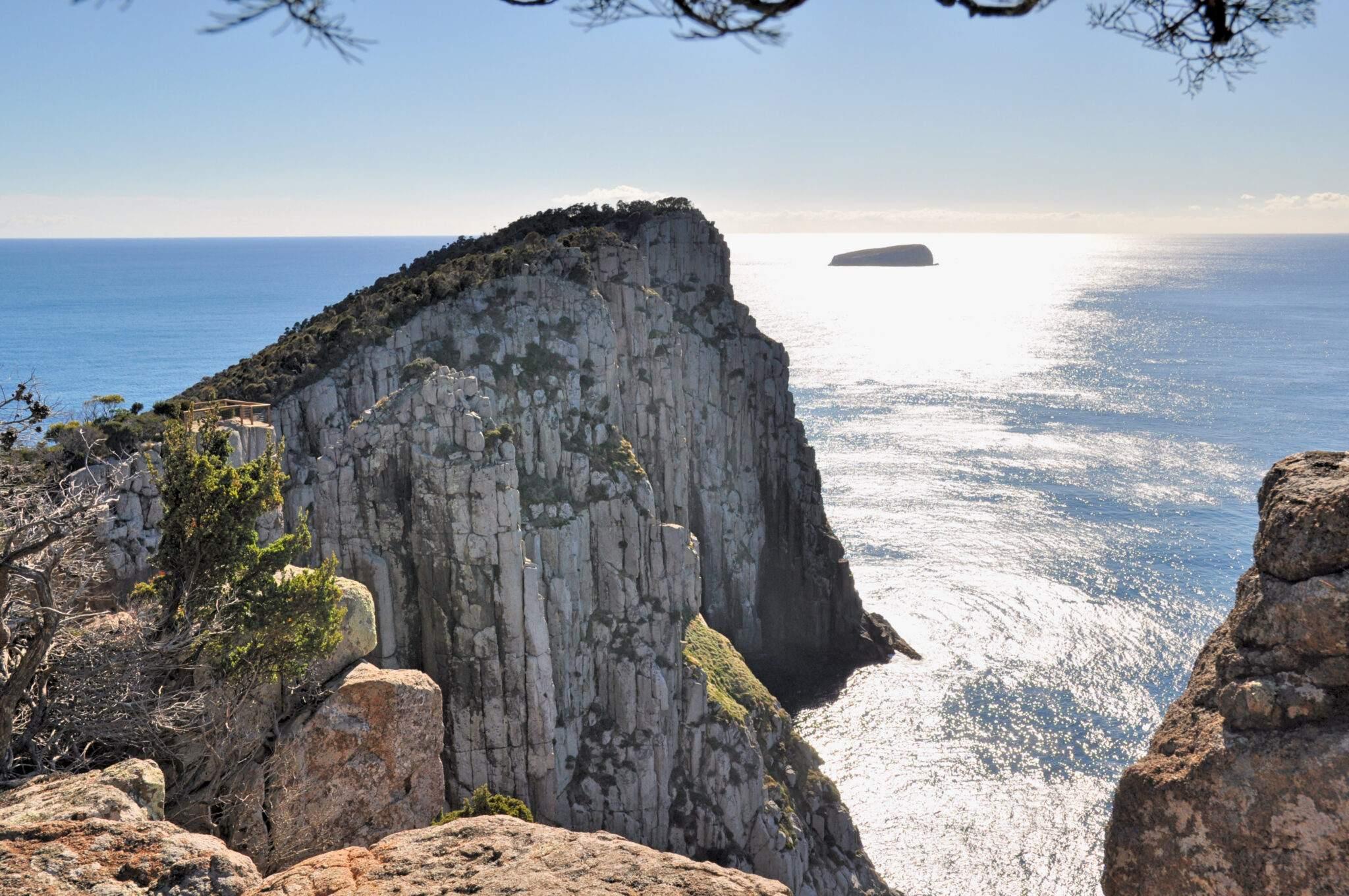 mooiste wandelingen in tasmanie cape hauy tasman peninsula