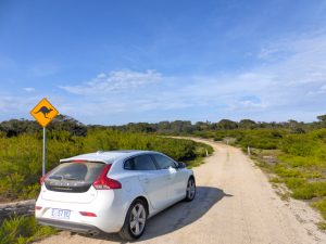 Roadtrip Tasmanië: 'the nav said no but the map said go!'